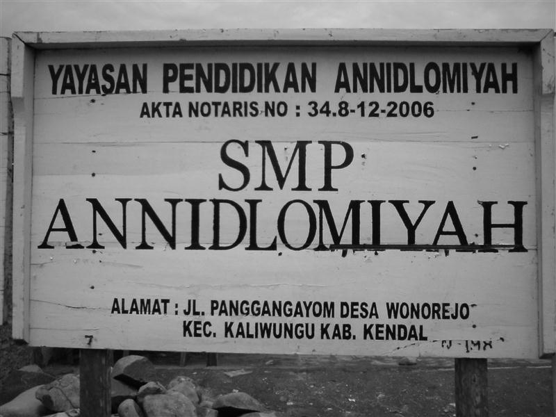 Lowongan Kerja Guru Bahasa Jawa di SMP Annidlomiyah Kaliwungu