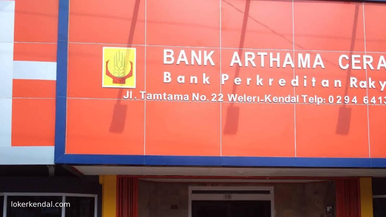 Lowongan Kerja di BPR Bank Arthama Cerah Weleri Kendal