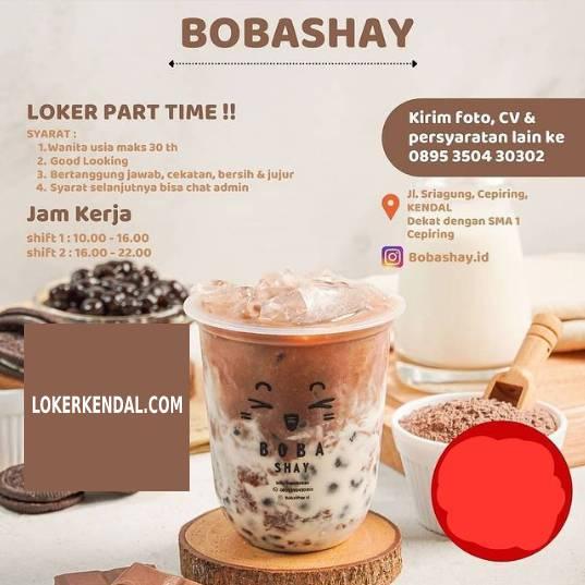 Lowongan Kerja Part Time di Bobashay Cepiring